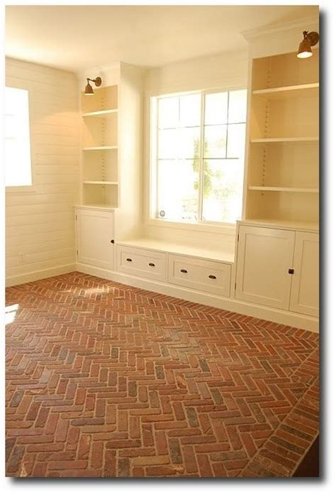 129 best Brick Floors: Brick Flooring Design Ideas images