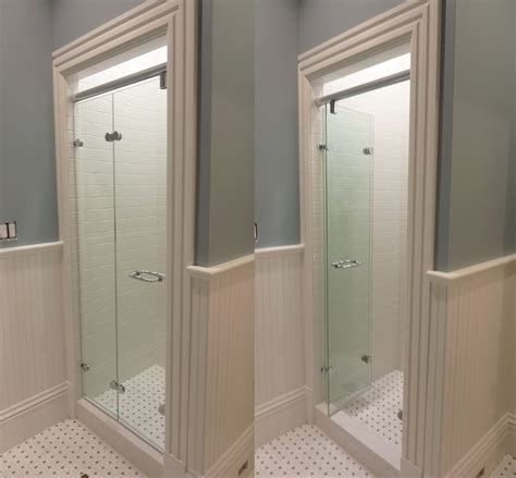 Folding Glass Shower Doors 191 Best Images About Bathroom Ideas On Pinterest Toilets Toilet Sink And Shower Drain
