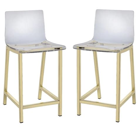 home decorators bar stools pure decor clear acrylic counter stool set of 2 free
