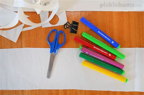 How To Make Paper Doll Chain - more than just paper dolls picklebums
