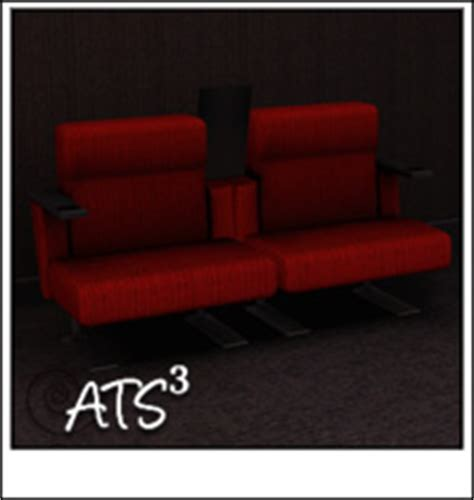 movie theater with loveseats around the sims 3 custom content downloads objects