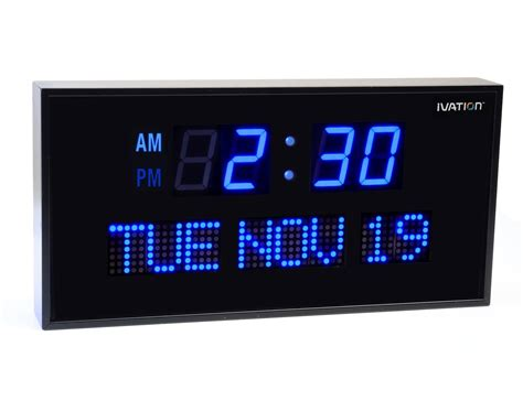 digital wall clocks digital wall clocks large numbers