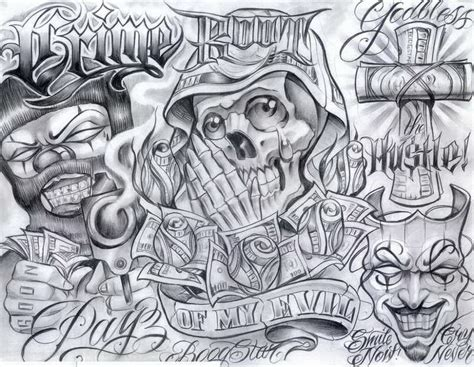 chicano art tattoos chicano drawings chicano top tattoos ideas