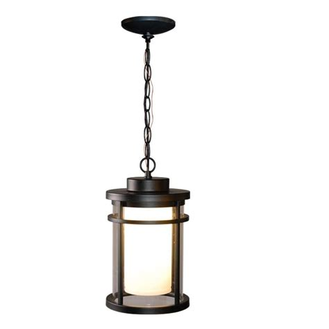 Hanging Led Lights Outdoor Home Decorators Collection Black Outdoor Led Hanging Light Ds5981bk The Home Depot