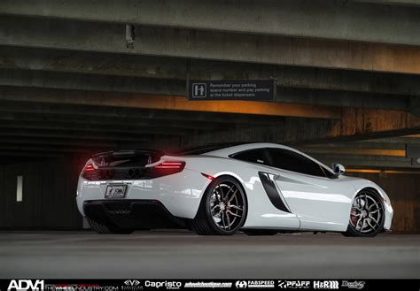 custom mclaren mp4 12c mclaren mp4 12c adv005 track spec cs concave wheels