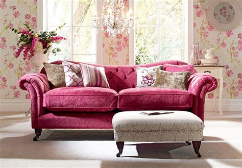 10 Spring Living Rooms Pink Sofa Living Room