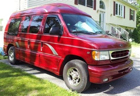 how things work cars 2002 ford econoline e250 seat position control purchase used 2002 ford e250 econoline eclipse conversion van 70k miles excellent shape in