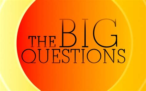 o s guide to the big questions oã s books guides books a series of big questions 6