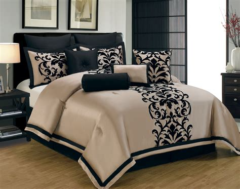 black bed set king size navy blue and gold comforters google search