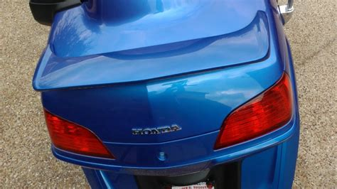 how to install a spoiler on a honda civic installing a spoiler on a honda goldwing gl1800
