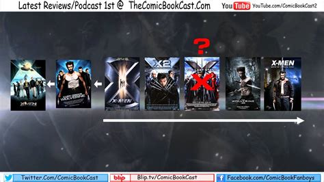 marvel film zeitlinie x men movie timeline explained youtube