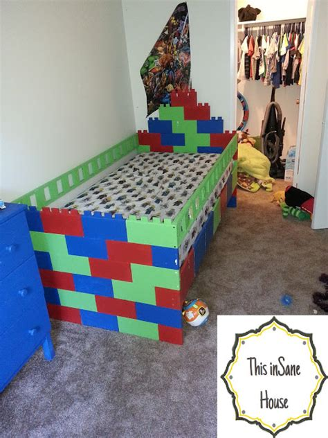 Lego Bed Frame this house lego bed frame