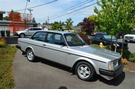 sell   volvo  glt turbo coupe restored  reserve  silver  lakewood