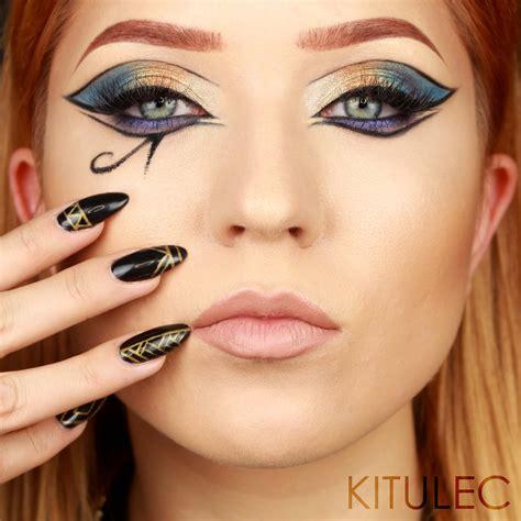 tutorial makeup cleopatra cleopatra makeup tutorial geek culture videos and