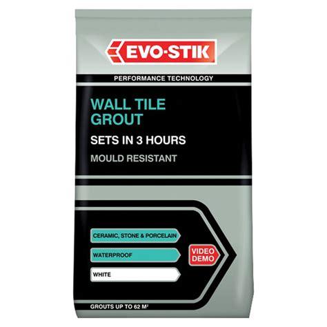 Set Tile Stik Manita 1 evo stik 478718 tile a wall fast set grout white 1 5kg rapid