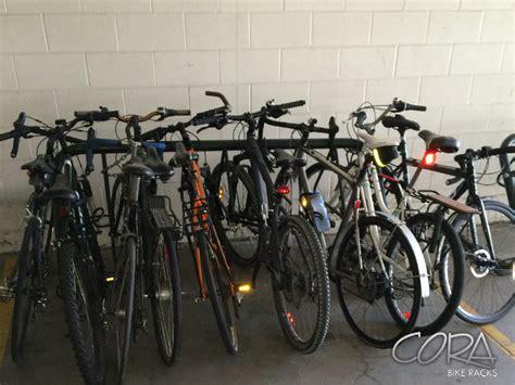Cora Bike Racks Canada by Racks In Use Cora Canada