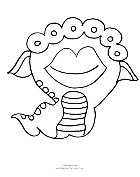monsters in coloring pages monster high halloween coloring pages