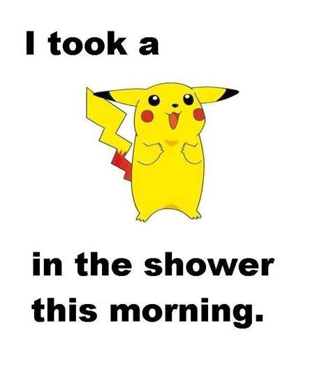 Pikachu Shower by Pikachu Pok 233 Mon The O