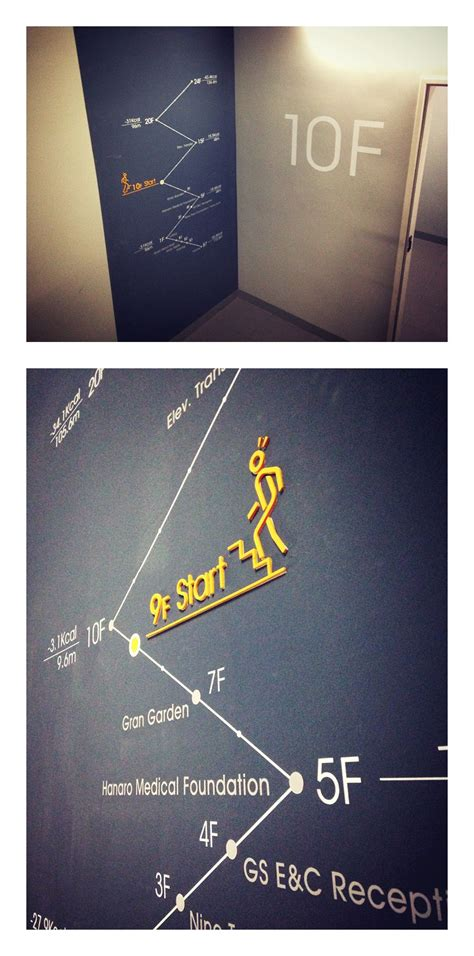 Bauschild Größe by Vinyl Graphics And 3d Letters Make Indoor Wayfinding