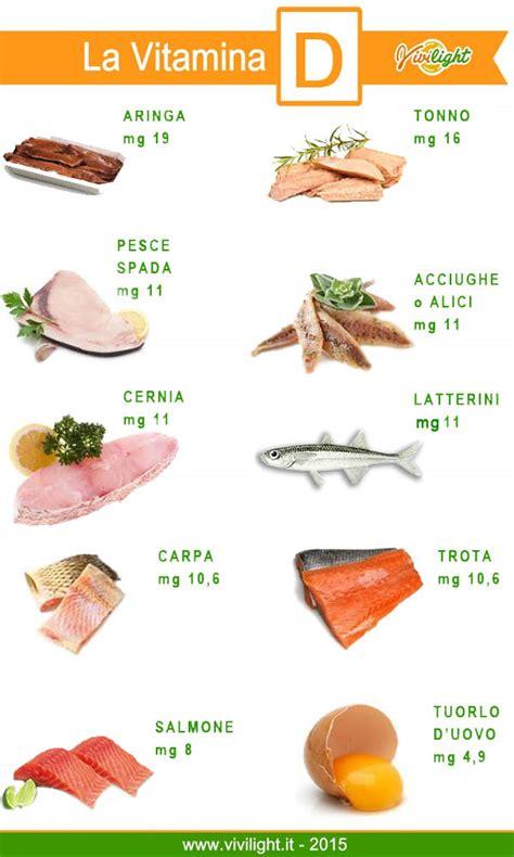 alimenti contengono la vitamina d vivilight la vitamina d propriet 224 e cibi la