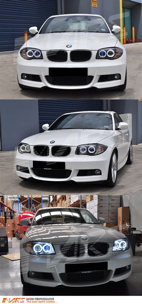 Bmw 1 Series E87 Headlights by Bmw E81 E82 E87 E88 Black Ccfl Projector