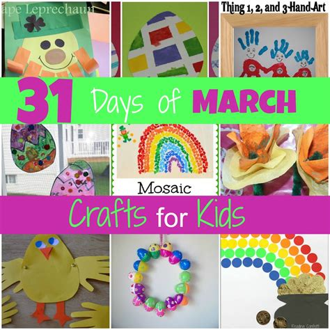 march crafts for mamas like me 31 days of march crafts for pre k