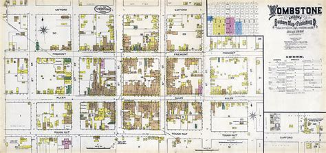 Stanley Floor Plan App tombstone arizona fire insurance map 1886 photograph by