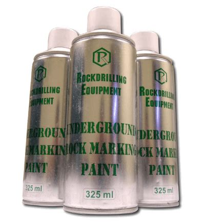 spray painting in mines rockdrilling equipment we supply top mine marking paint