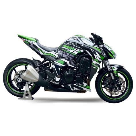 Kawasaki Z1000 Felgenaufkleber by Motorradaufkleber Bikedekore Wheelskinzz Kawasaki