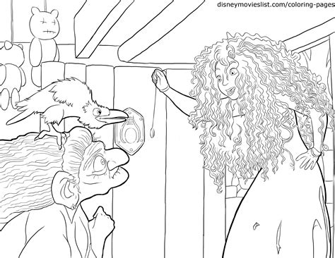 brave coloring pages disney s brave coloring pages sheet free disney printable