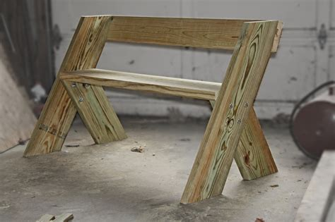 2x6 Bench i finished my aldo leopold bench today 2x8 legs 2x10 seat and 2x6 backrest http