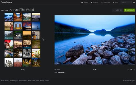Smugmug Launches Totally Redesigned Website Digital Photography Review Smugmug Website Templates