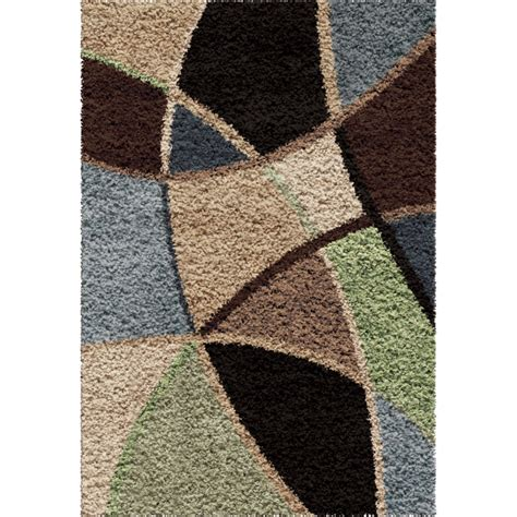 Rug 7x10 by Abstract Duchess Blue Meduim Large Rug From Orian 1729