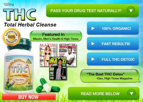 How To Detox Before Test by Detox Pills To Pass A Test For Fast Marijuana
