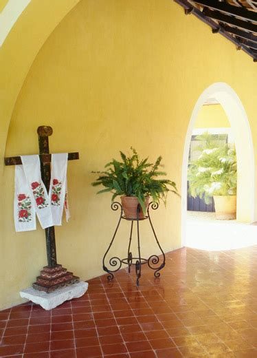 hacienda style