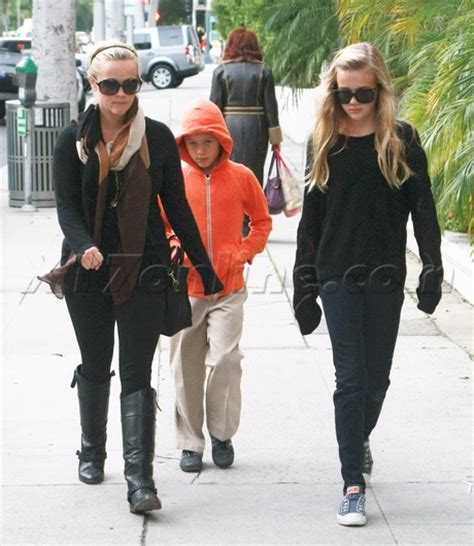 And Phillippe by Reese Witherspoon With Children Deacon Phillippe And
