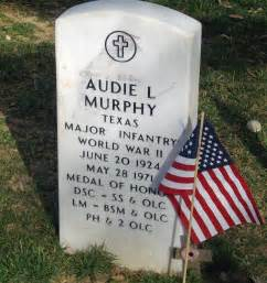 remembering audie murphy at arlington national cemetery