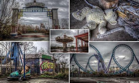 theme park newspaper articles eerie images show new orleans six flags amusement park