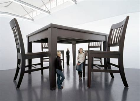 Gulliver?s Furniture: Giant Sized Tables & Huge Scale Chairs