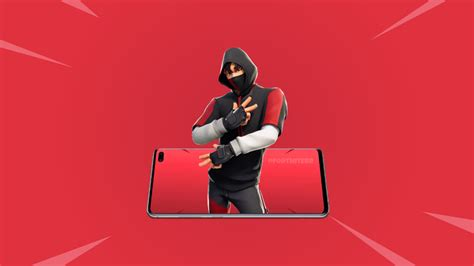fortnite samsung galaxy  ikonik outfit release date