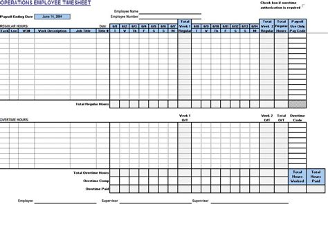 excel timecard template time log template free printable running log pdf from