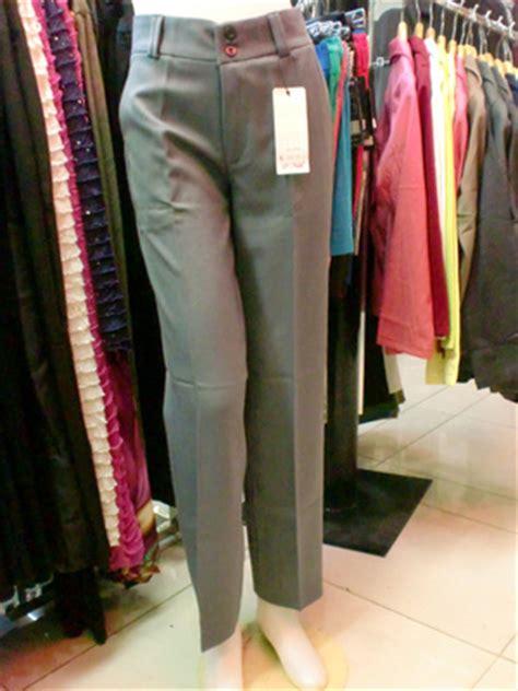 Celana Kantor Wanita 1 celana bahan kantor kerja formal wanita cewek basic slim fit must muss