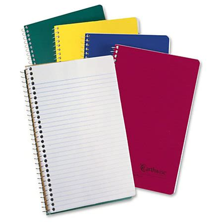 Printed Small Notebook oxford 3 subject small wirebound notebook 150 sheets