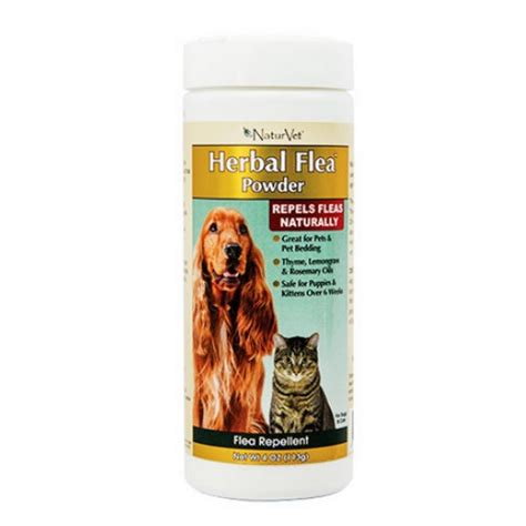 flea powder for dogs naturvet herbal flea powder for cats and dogs naturalpetwarehouse