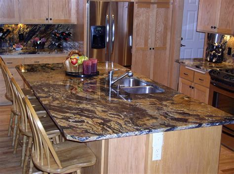 kitchen island with granite tropical brown granite top kitchen island mixed country