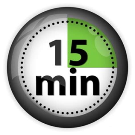 you have 64 15 minute increments today. how will you use