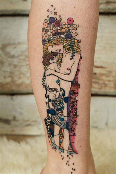 art inspired tattoos gustavklimt inspired by sabinekiljan photo by