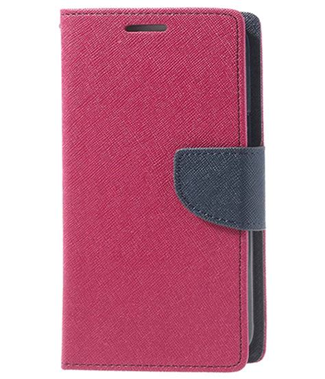 Galaxy Ace 2 Flip Cover denicell flip cover for samsung galaxy j2 ace pink
