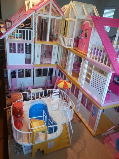 vintage barbie dream house working on a vintage barbie dream house redo work in prog flickr