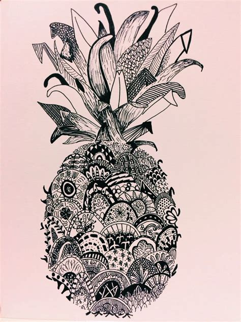 pineapple tattoo pinterest b w pineapple renee earth without art is just eh